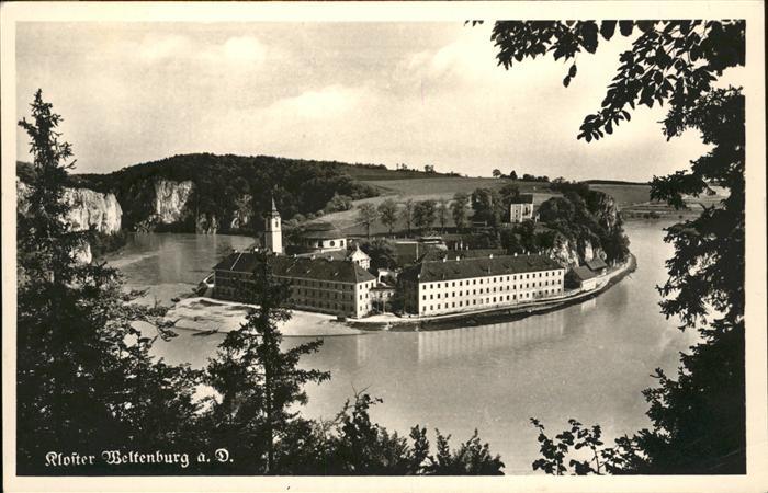 Weltenburg Kelheim Kloster Weltenburg Kat. Kelheim