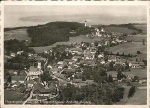 Erling Fliegeraufnahme Kloster Andechs Kat. Andechs