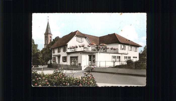 Nesselried Gasthaus z. Engel Kat. Appenweier