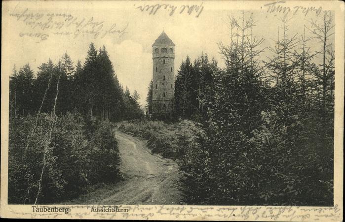 Taubenberg Aussichtsturm Kat. Bodolz