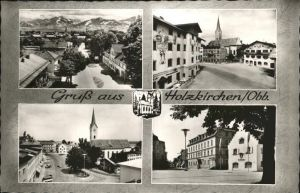 Holzkirchen Kirche Marktplatz Kat. Holzkirchen