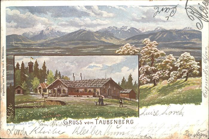 Taubenberg Taubenberg Kat. Bodolz