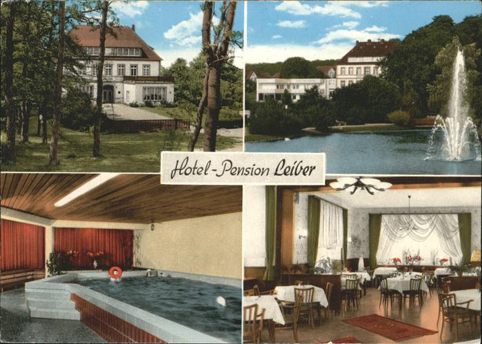 Bad Laer Hotel-Pension Leiber / Bad Laer /Osnabrueck LKR