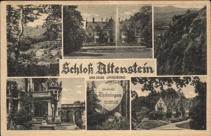 Altenstein Bad Liebenstein Schloss Altenstein Umgebung Kat. Bad Liebenstein