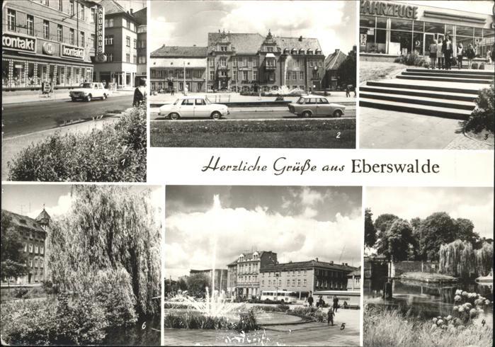 Eberswalde Friedrich-Ebert-Str. IFA-Vertrieb Bruecke Kat. Eberswalde