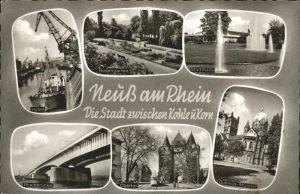 Neuss Rosengarten Stadthalle Obertor Kat. Neuss