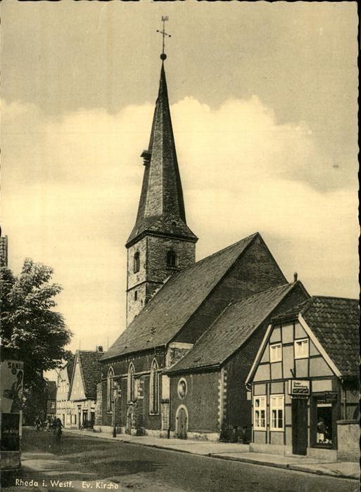 Rheda Rheda-Wiedenbrueck Kirche Kat. Rheda-Wiedenbrueck