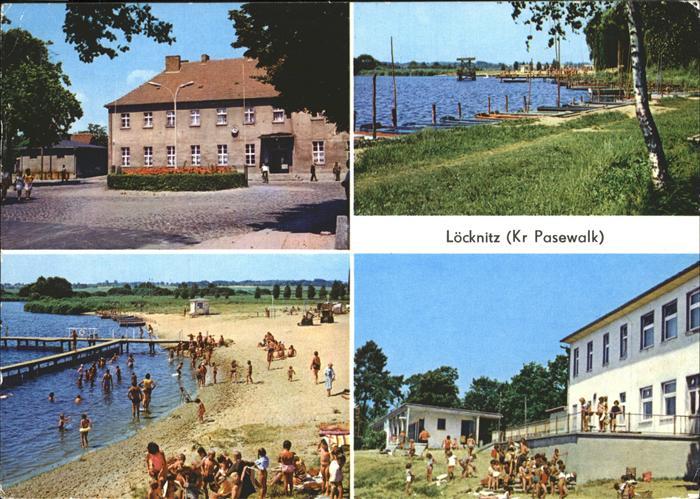 Loecknitz Mecklenburg Vorpommern HO Freiluftgaststaette