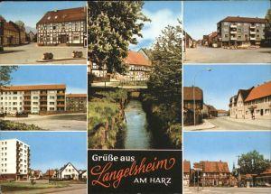 Langelsheim Harz Stadt Kat. Langelsheim