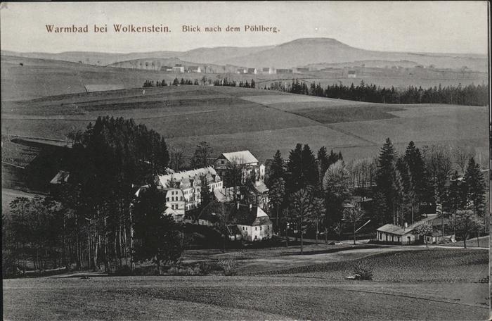 Warmbad Wolkenstein Wolkenstein, Poehlberg / Wolkenstein /Erzgebirgskreis LKR