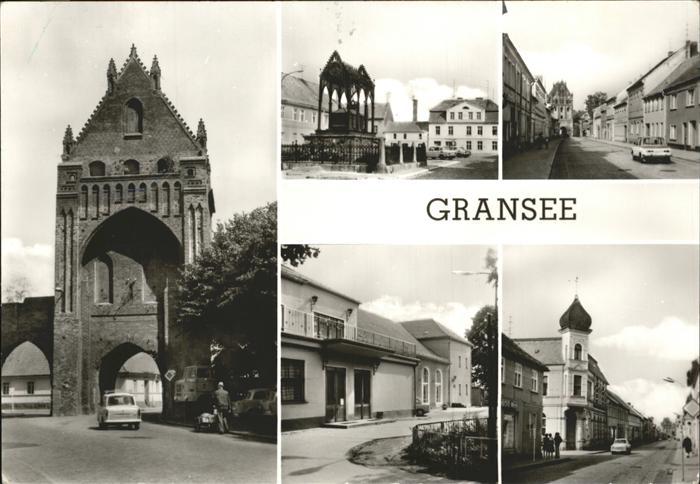 Gransee  Kat. Gransee