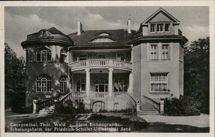 Georgenthal Gotha Haus Eichengrund Kat. Georgenthal