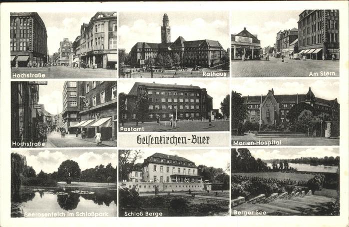 Gelsenkirchen Buer Kat. Gelsenkirchen