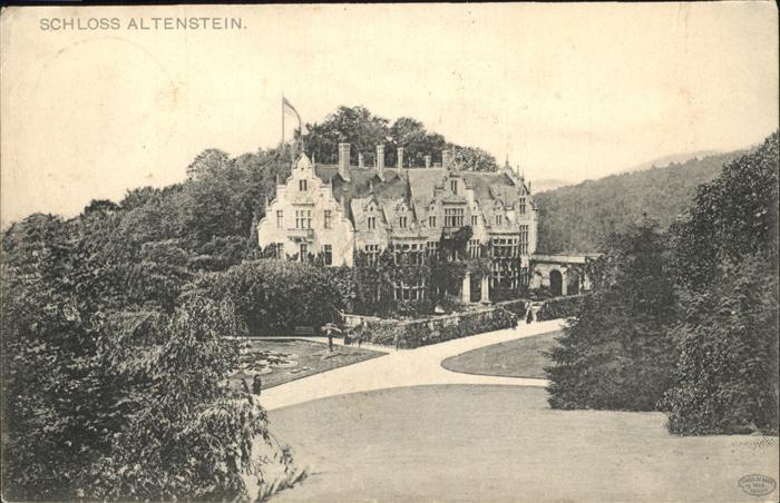 Altenstein Bad Liebenstein Schloss Altenstein Kat. Bad Liebenstein