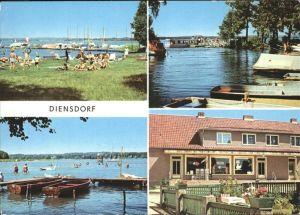 Diensdorf-Radlow Scharmuetzelsee Kat. Diensdorf-Radlow
