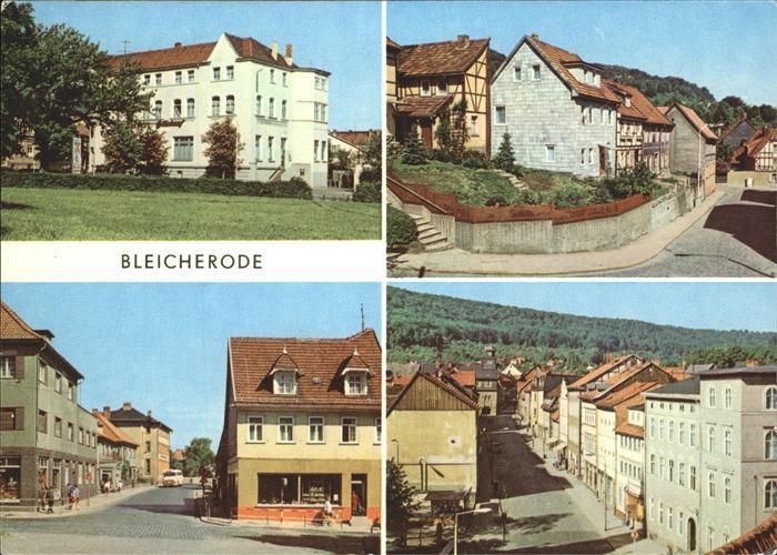 Bleicherode Kulturhaus Kichstrasse Maxim-Gorki-Strasse Kat. Bleicherode