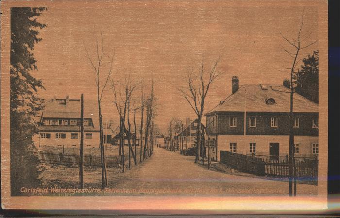 Carlsfeld Erzgebirge Ferienheim Carlsfeld Weitersglashuette Kat. Eibenstock