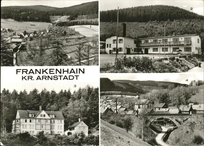 Frankenhain Schlieben Kurheim Erich Hertel Braunkohlenkombinat Geiseltal Kat. Schlieben