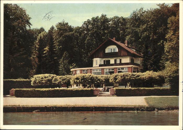 Feldafing Forsthaus am See Kat. Feldafing