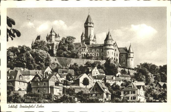 Braunfels Schloss Braunfels / Braunfels /Lahn-Dill-Kreis LKR