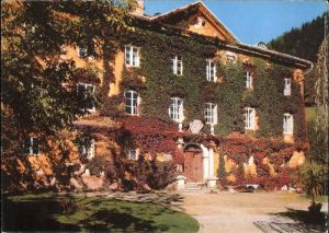 Obervellach Kaernten Pension Schloss Trabuschgen / Obervellach /Oberkaernten