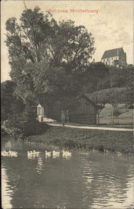 Mindelheim Schloss Mindelburg Kat. Mindelheim