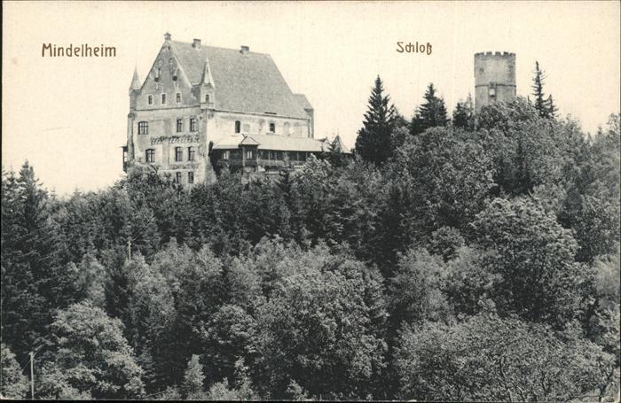 Mindelheim Schloss Kat. Mindelheim