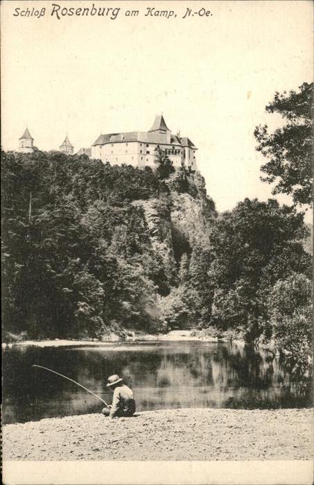 Rosenburg Mold Schloss Rosenburg Kamp Kat. Rosenburg Mold