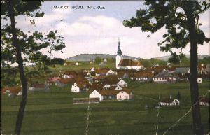 Gfoehl Markt Nied. oesterr. Kat. Gfoehl