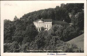 Scheibbs Schloss Lehenhoff Kat. Scheibbs