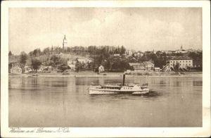 Wallsee Sindelburg Donau Dampfschiff Kat. Wallsee Sindelburg