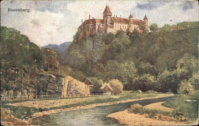 Rosenburg Mold Burg Kat. Rosenburg Mold