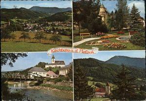 Kirchberg Pielach Hohenstein Park Schloss Peilach Kat. Kirchberg an der Pielach