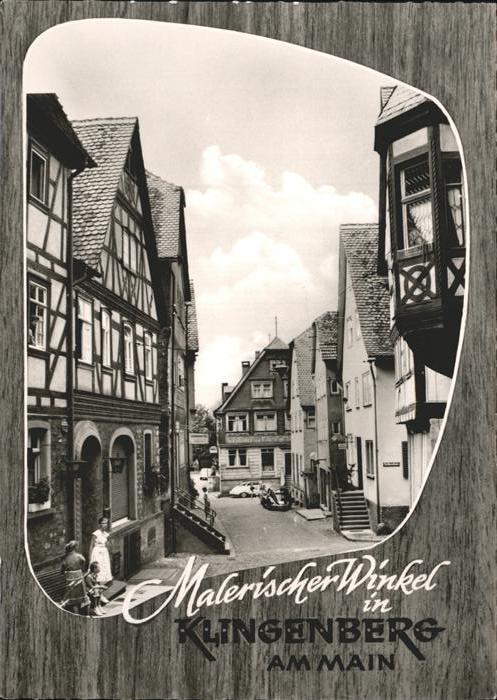 Klingenberg Main Fachwerkhaeuser Kat. Klingenberg a.Main
