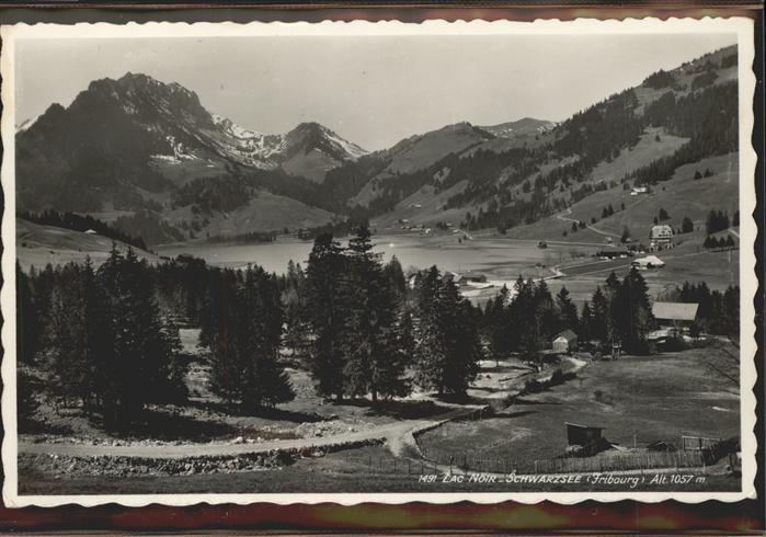 Schwarzsee Sense  Kat. Schwarzsee