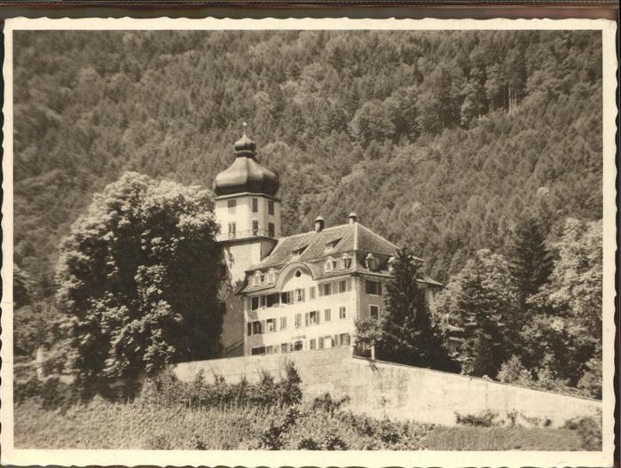 Balgach Schloss Gruenenstein Kat. Balgach