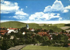 Herleshausen Teilansicht Herleshausen Kirche Burg Kat. Herleshausen