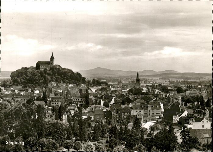 Siegburg Teilansicht Siegburg Michaelsberg Abtei Kat. Siegburg