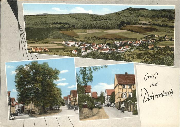 Dohrenbach Teilansichten Dohrenbach Kat. Witzenhausen