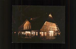 Bargteheide Altes Gemeindehaus Restaurant Utspann Kat. Bargteheide
