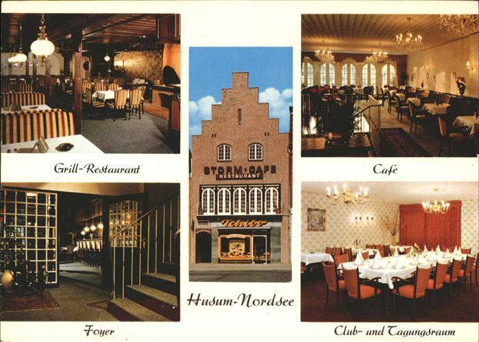 Husum Nordfriesland Storm-Cafe / Husum /Nordfriesland LKR