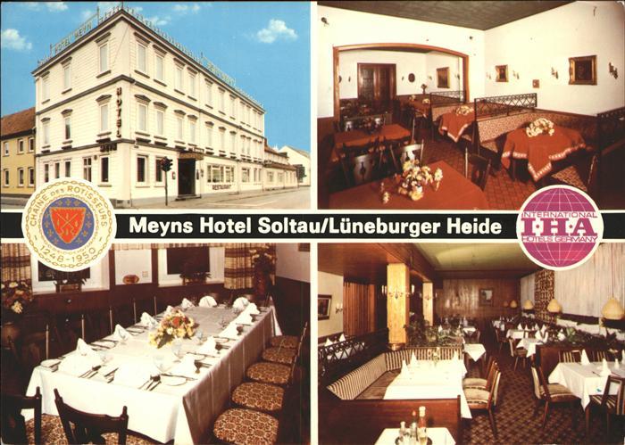 Soltau Meyns Hotel Soltau Kat. Soltau