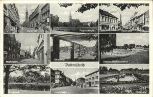 Wattenscheid Stadion Beckmannshof Probsteikirche Oststrasse Kat. Bochum