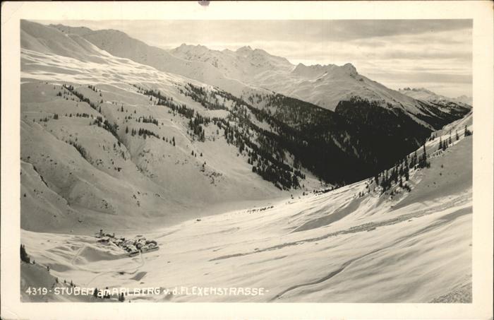Stuben Vorarlberg Flexemstr. Kat. Kloesterle