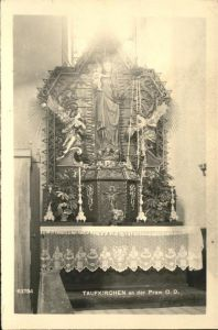 Taufkirchen Pram Altar Kat. Taufkirchen an der Pram