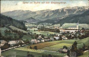 Spital Pyhrn Sengsengebirge Kat. Spital am Pyhrn
