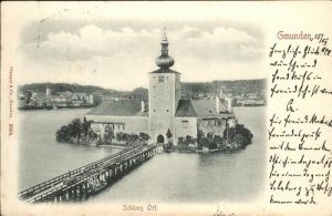 Gmunden Schloss Ort Kat. Gmunden