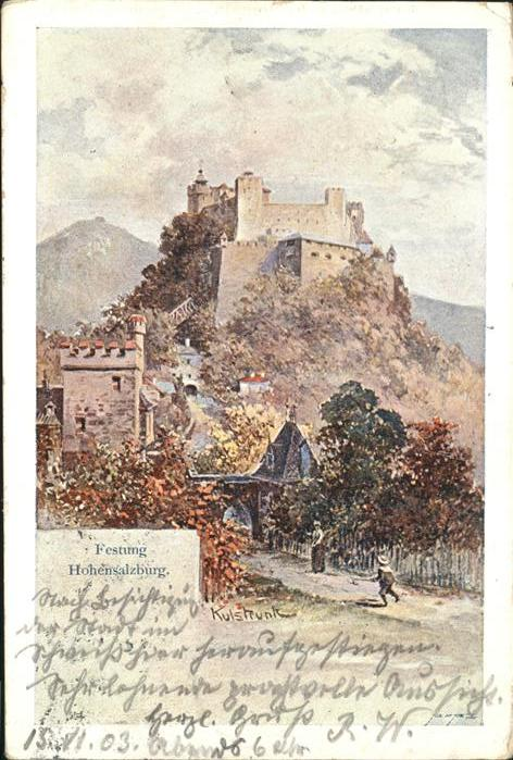 Hohensalzburg Festung Hohensalzburg Kat. Salzburg