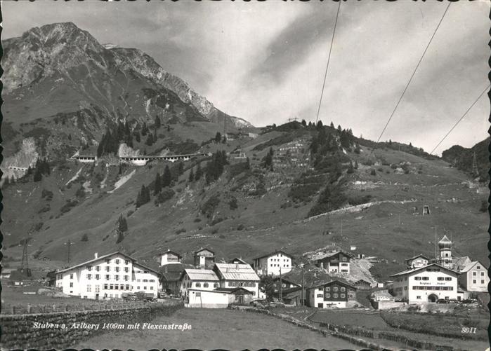 Stuben Vorarlberg Flexenstr. Kat. Kloesterle