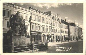 Altheim Oberoesterreich Marktplatz Kat. Altheim